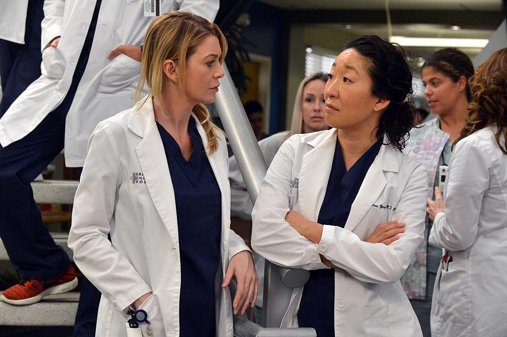 Cristina and Meredith: Mending
