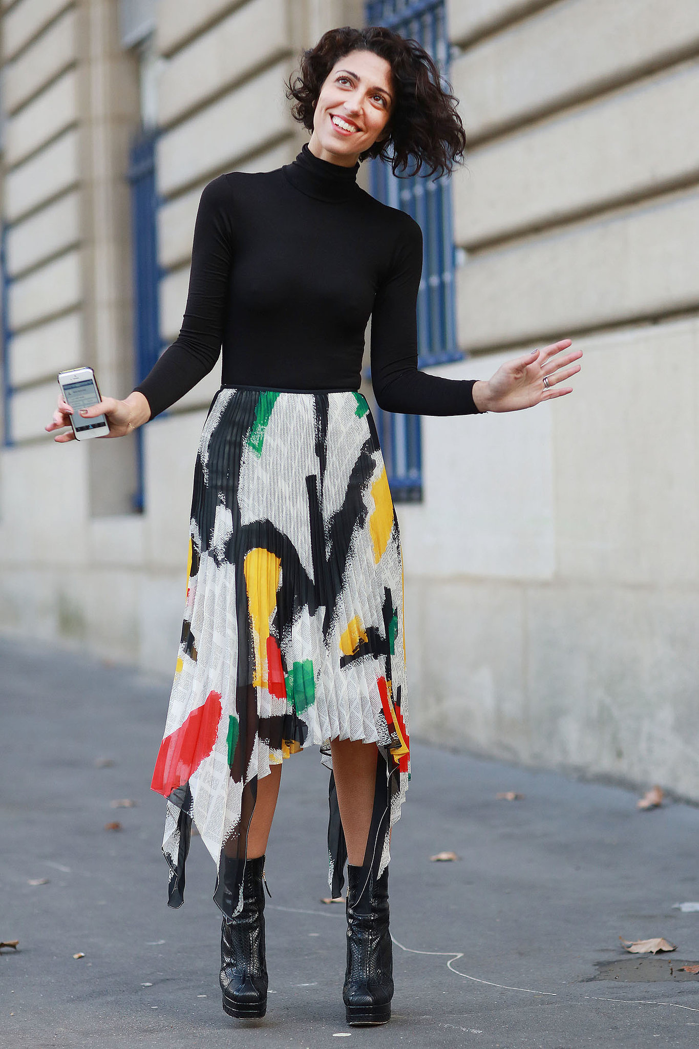Pfw Street Style Day Two See Every Street Style Snap