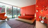 A fiery red combo can be found in another room.  Source: Capitas Real Estate