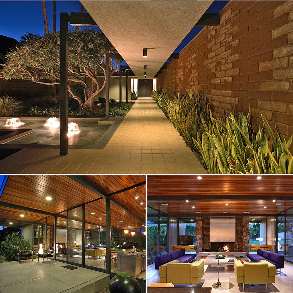 Leonardo DiCaprio's Palm Springs abode is a class apart