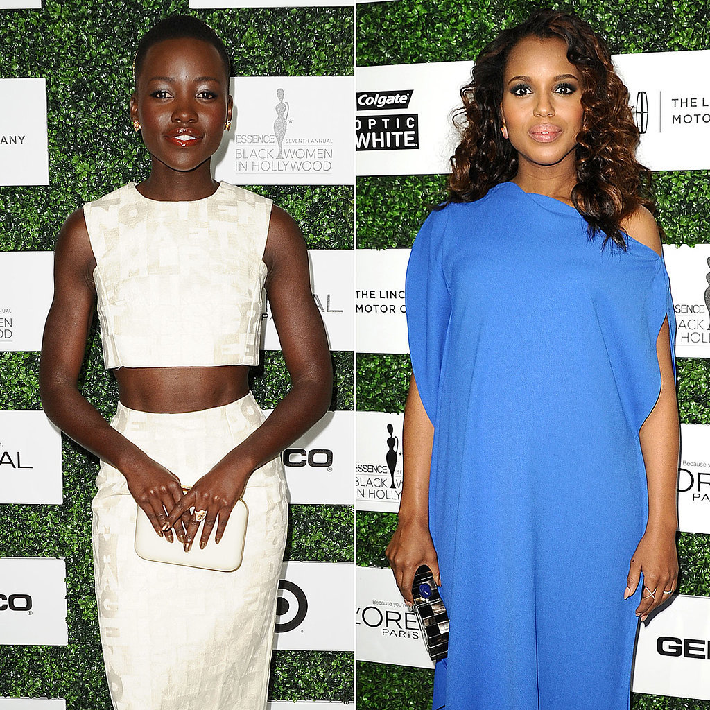 """Gladiator"" Lupita Nyong'o Lunches With Olivia Pope Herself"
