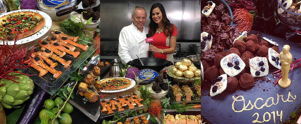 "Wolfgang Puck's Governors Ball Menu Is a ""Feast For the Eyes"""