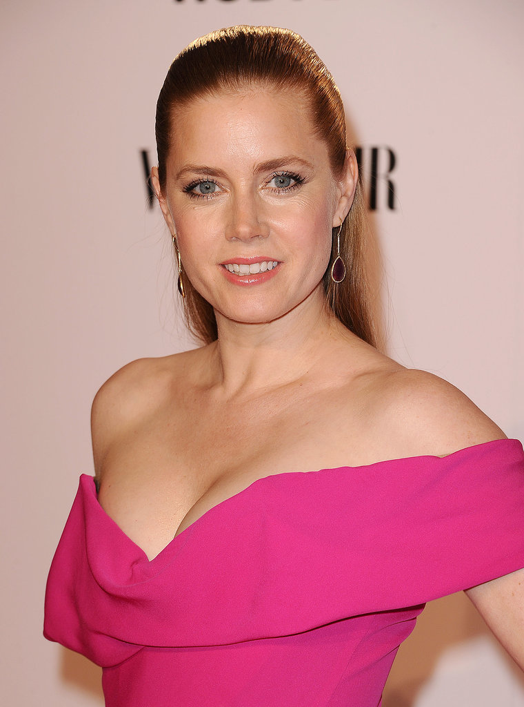 Amy Adams at Chysler's Toast to American Hustle