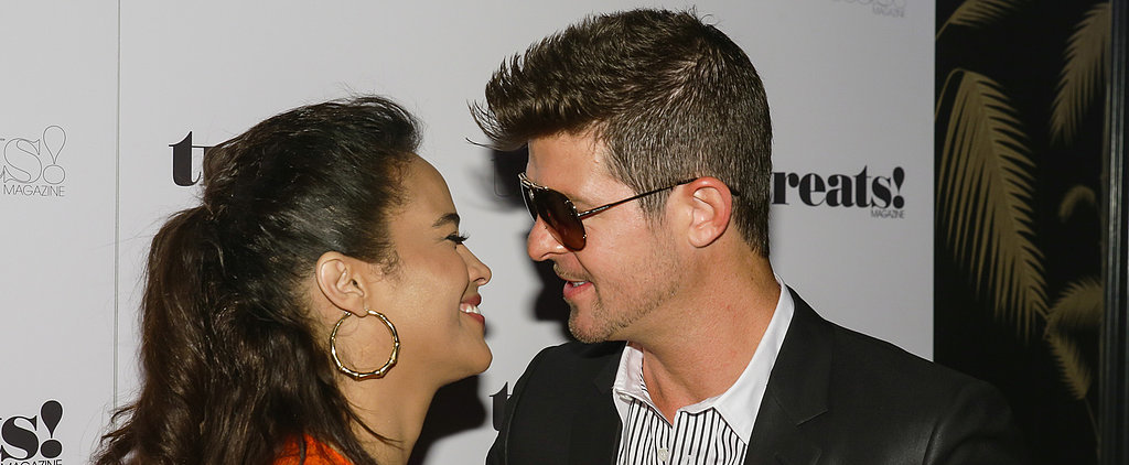 Robin Thicke Makes an Emotional Public Plea to Paula Patton