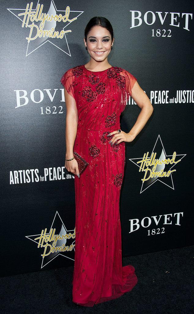 Vanessa Hudgens at the Hollywood Domino and Bovet 1822 Gala