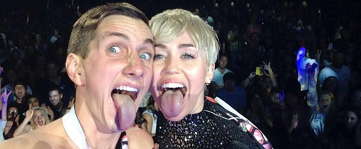 Miley Cyrus Accepts Prom Date Proposal — and Gets Intimate With Him on Stage