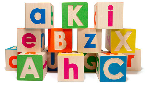 Uncle Goose Uppercase/Lowercase ABC Blocks