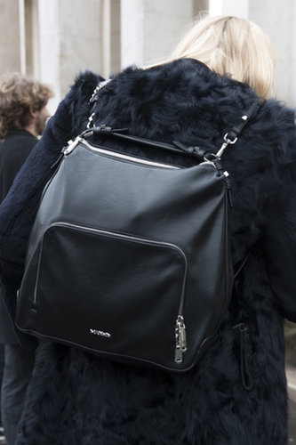 We're all about the backpack, especially in this sleek iteration.
