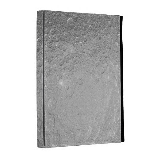 Moon Surface iPad Case