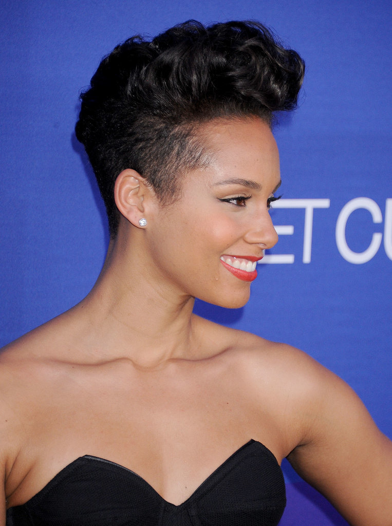 Alicia Keys At The Unite4 Humanity Event Popsugar Beauty