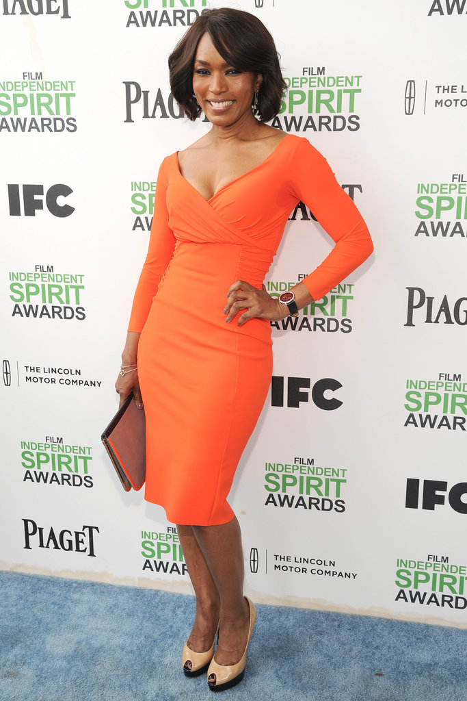 Angela Bassett at the 2014 Spirit Awards