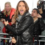 Jared Leto On Red Carpet At 2014 Independent Spirit Awards