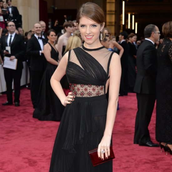 Anna Kendrick 2014 Oscars Red Carpet
