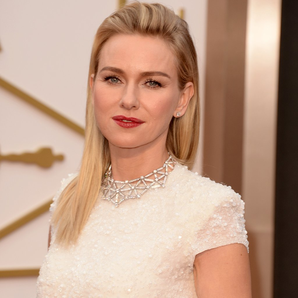 Naomi Watts's Hair and Makeup at Oscars 2014