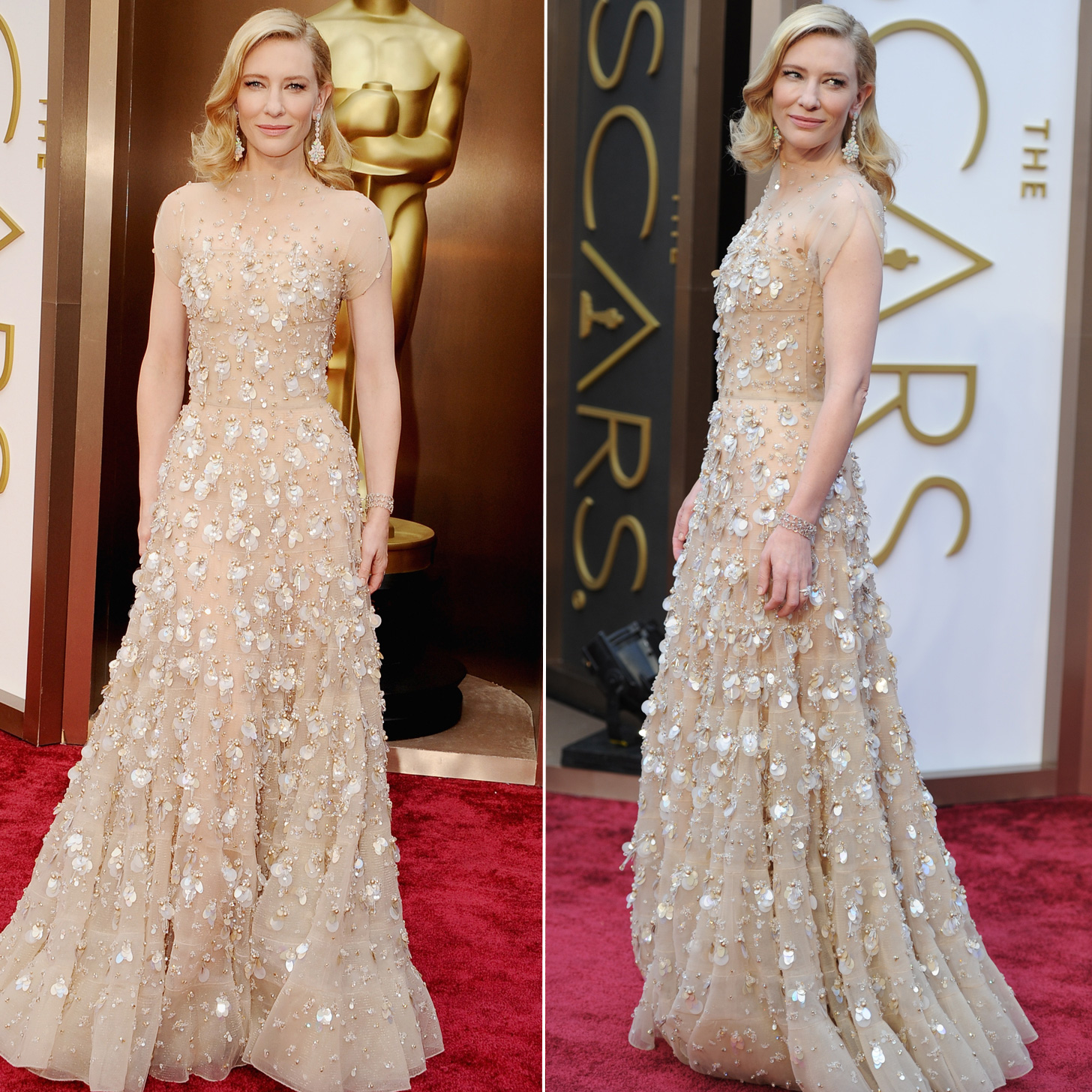 Cate Blanchett Armani Dress at Oscars 2014Cate Blanchett Oscars 2014