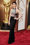 Anne Hathaway Is Back at the Oscars