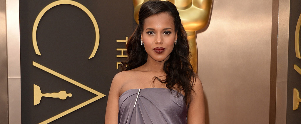 Is This Kerry Washington's Best Maternity Gown Yet?