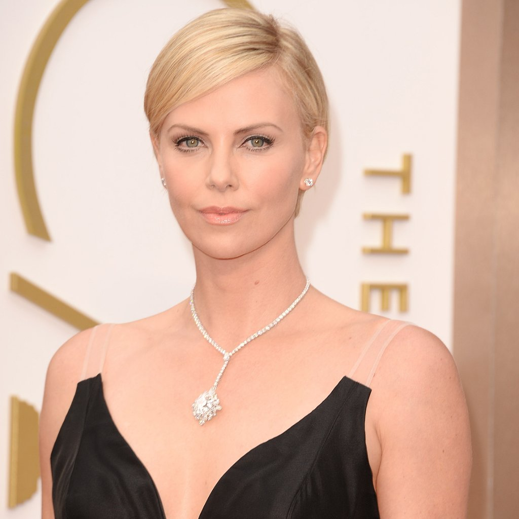Charlize Theron's Hair and Makeup at Oscars 2014