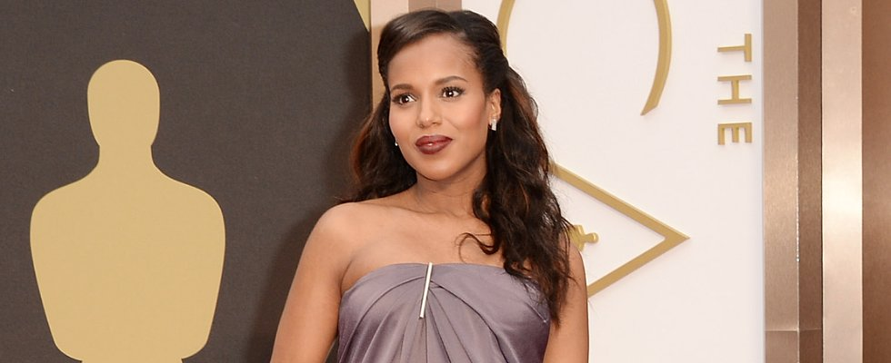 Let's Discuss Kerry Washington's Vampy, Lorde-Like Lipstick!