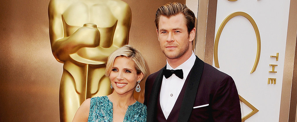Chris and Elsa Bring Double the Fun to the Oscars