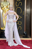 Lady Gaga at the 2014 Oscars