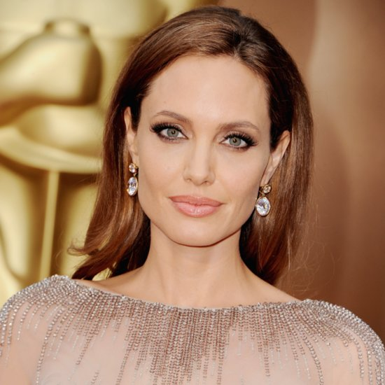 Pictures of Angelina Jolie at the 2014 Oscars