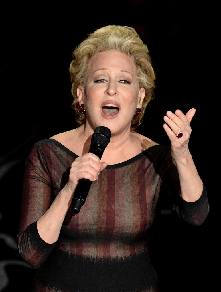 "Bette Midler sang ""Wind Beneath My Wings"" after the In Memoriam tribute."
