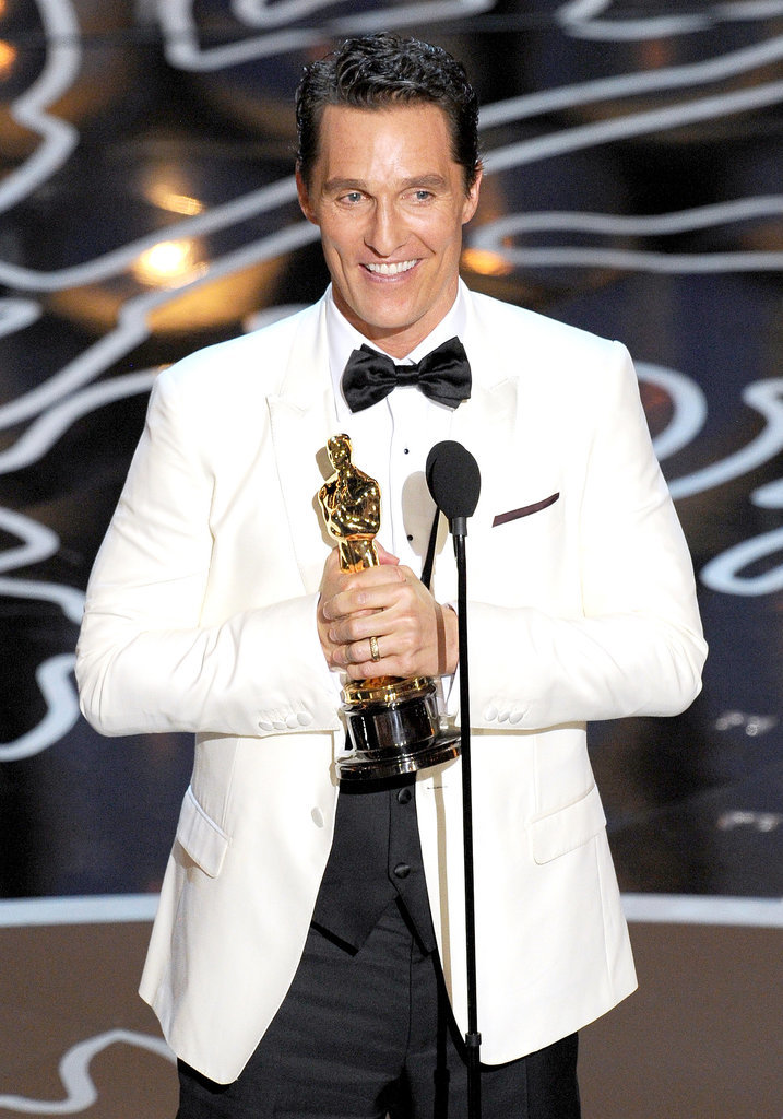 Matthew McConaughey's Speech
