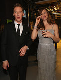 Benedict Cumberbatch and Jennifer Garner linked up backstage.
