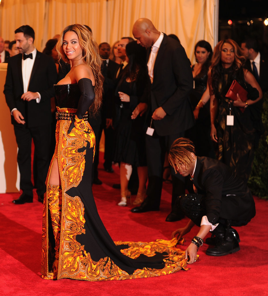 Beyoncé in Givenchy at the 2013 Met Gala