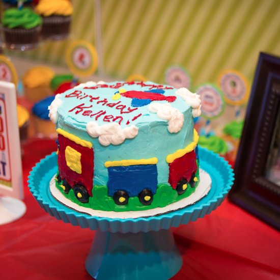 Choo Choo 2! A Transportation-Inspired Second Birthday Party