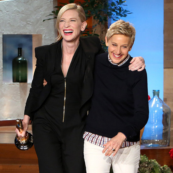 Cate Blanchett Interview on Ellen DeGeneres Post-Oscars Show