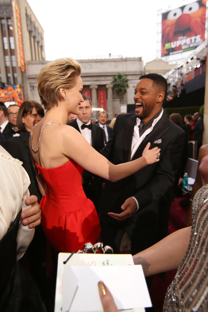 She Made Will Smith Squeal