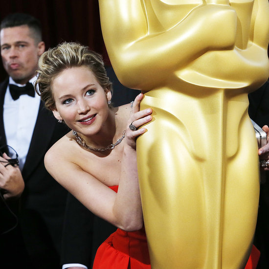 Jennifer Lawrence at the Oscars 2014