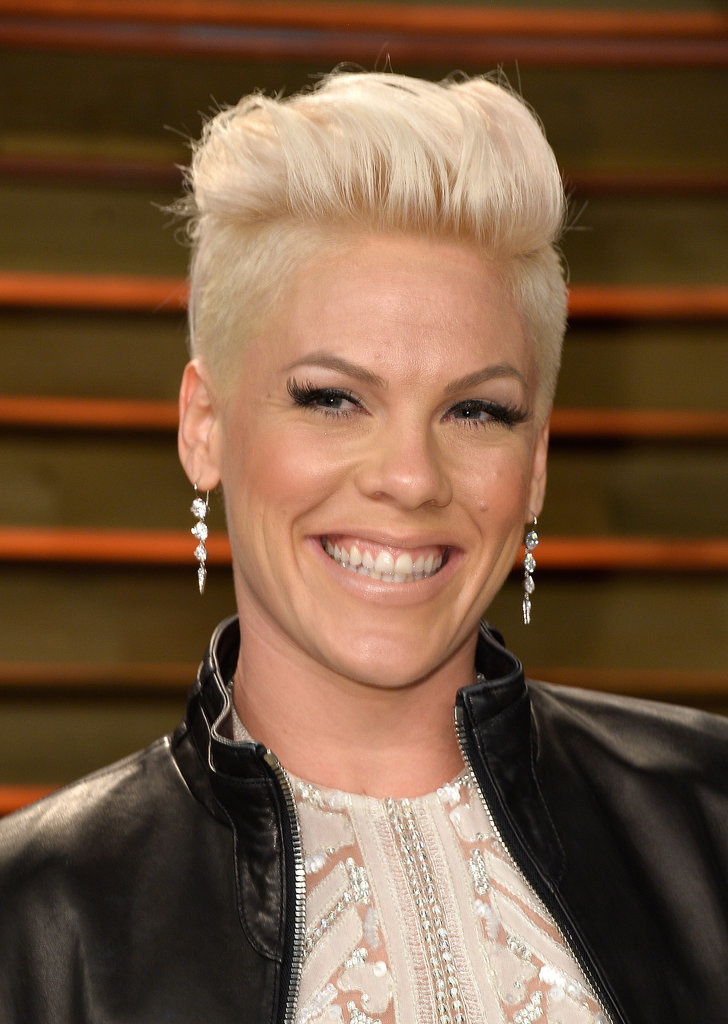 Pink at Vanity Fair Party
