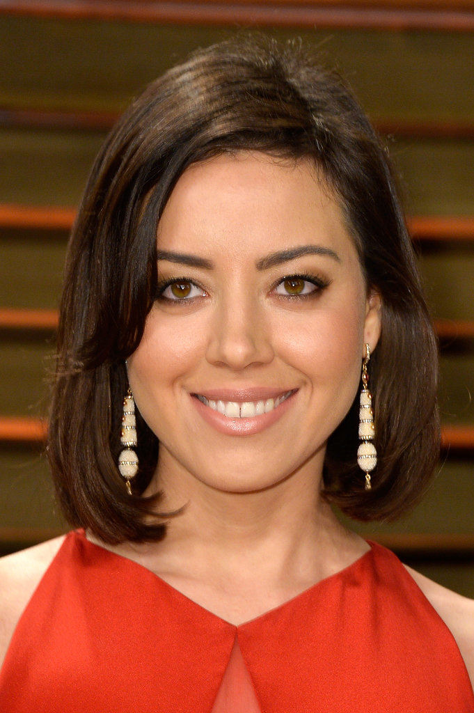 Aubrey Plaza at Vanity Fair Party