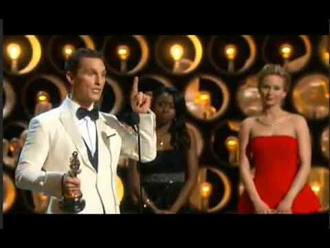 Best Actor: Matthew McConaughey