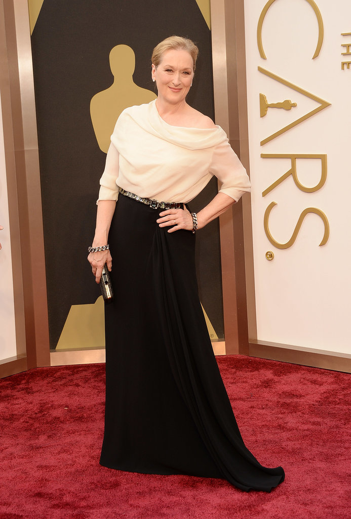 Meryl Streep in Lanvin at the Oscars