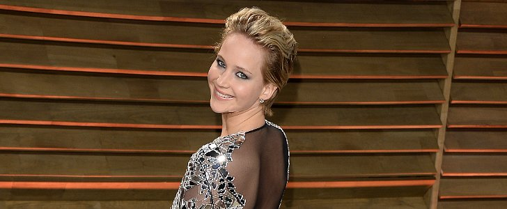 Jennifer Lawrence Goes Commando on Oscars Night