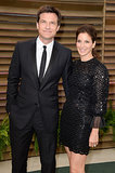 Jason Bateman and Amanda Anka made a gorgeous pair in black.