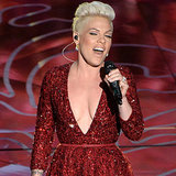 "Pink Sings ""Somewhere Over the Rainbow"" at the Oscars"
