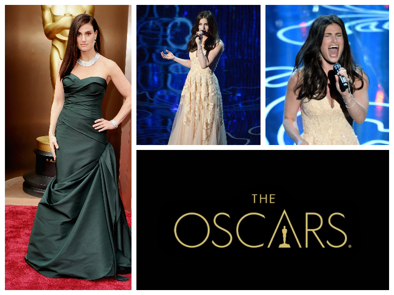 Idina Menzel Frozen Diamonds Music Original Song The Oscars Academy Awards Performance