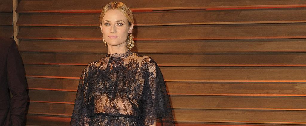Copy Diane Kruger's Sheer Black Lace (Starting at Just $30)