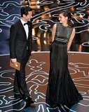 Joseph Gordon-Levitt and Emma Watson shared an adorable moment when they took the stage to present the award for best achievement in visual effects.