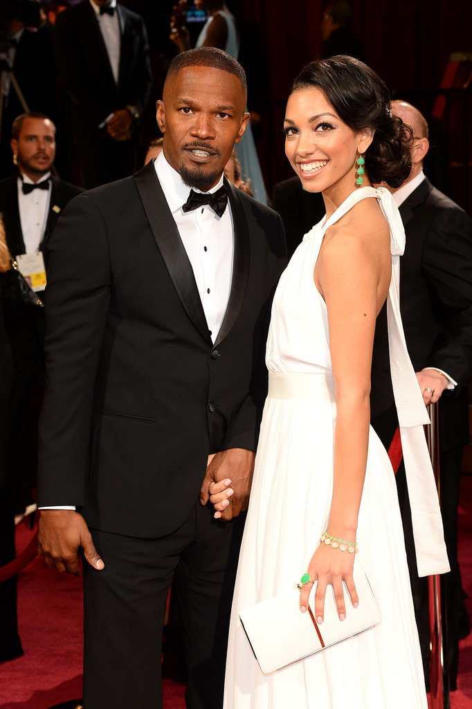 Jamie Foxx has been bringing his daughter Corinne to various award shows since she was a little girl, and he continued the tradition at the Oscars this year.