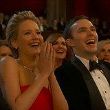 Jennifer Lawrence mit Freund Nicholas Hoult bei den Oscars