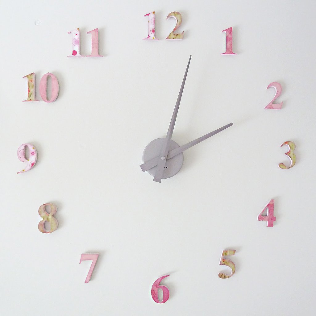 A Floating Wall Clock