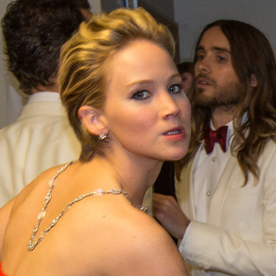 Jennifer Lawrence's Craziest Faces During Award Season 2014