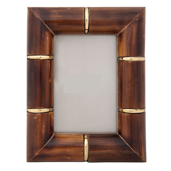 For the glamorous hostess and a personal touch, give this gold bamboo frame ($8, originally $30). Fill with a memorable photo or leave room for a photo from the party.