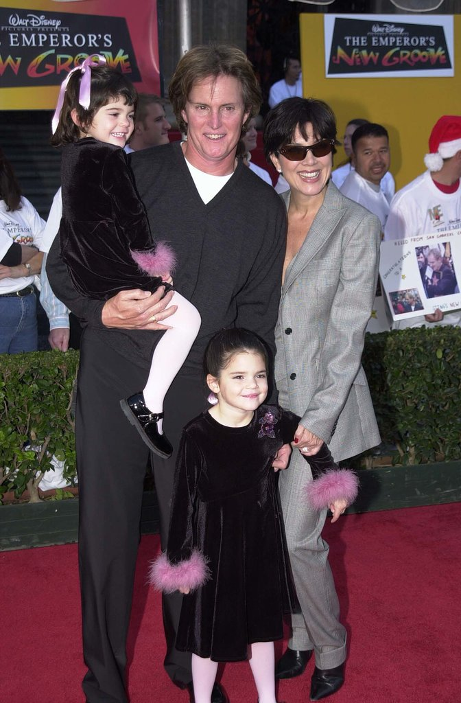 As an adorable 5-year-old, Kendall attended the premiere of The Emperor's New Groove in 2000.